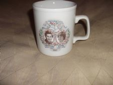 COLLECTABLE MUG WEDDING OF CHARLES & DIANA 1981 EX COND